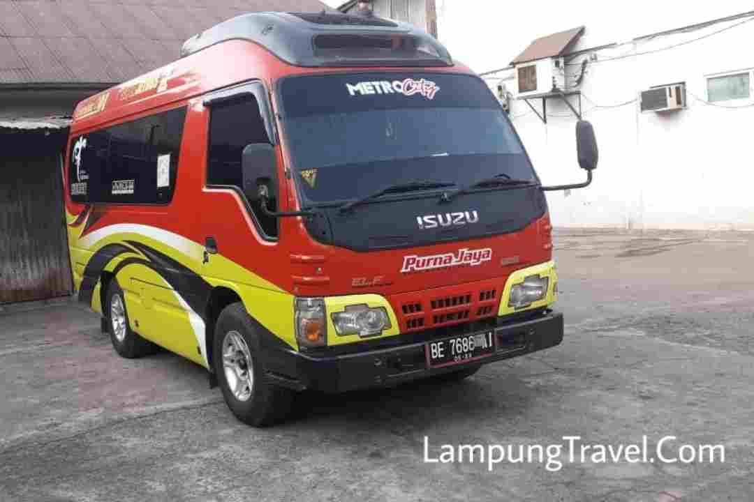 Travel Cibubur Bekasi ke Pringsewu Lampung