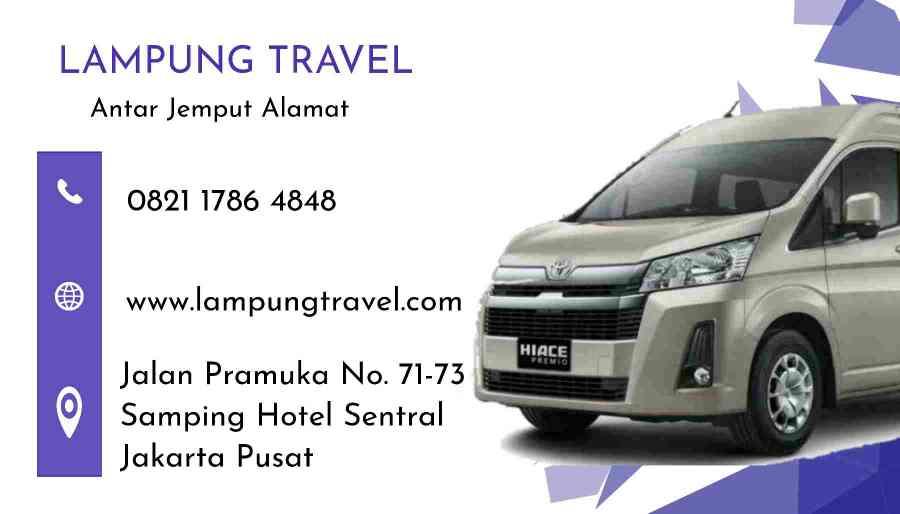 Travel Pahoman Lampung Depok