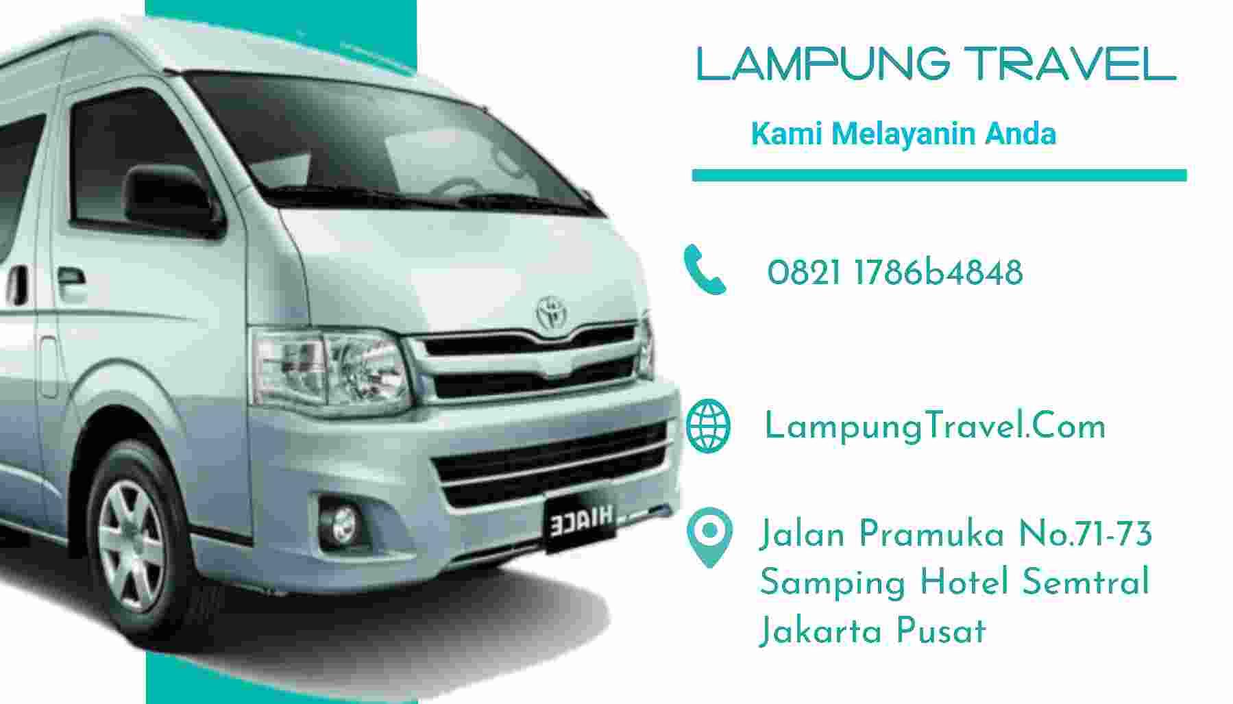 Travel Way Halim Lampung Depok