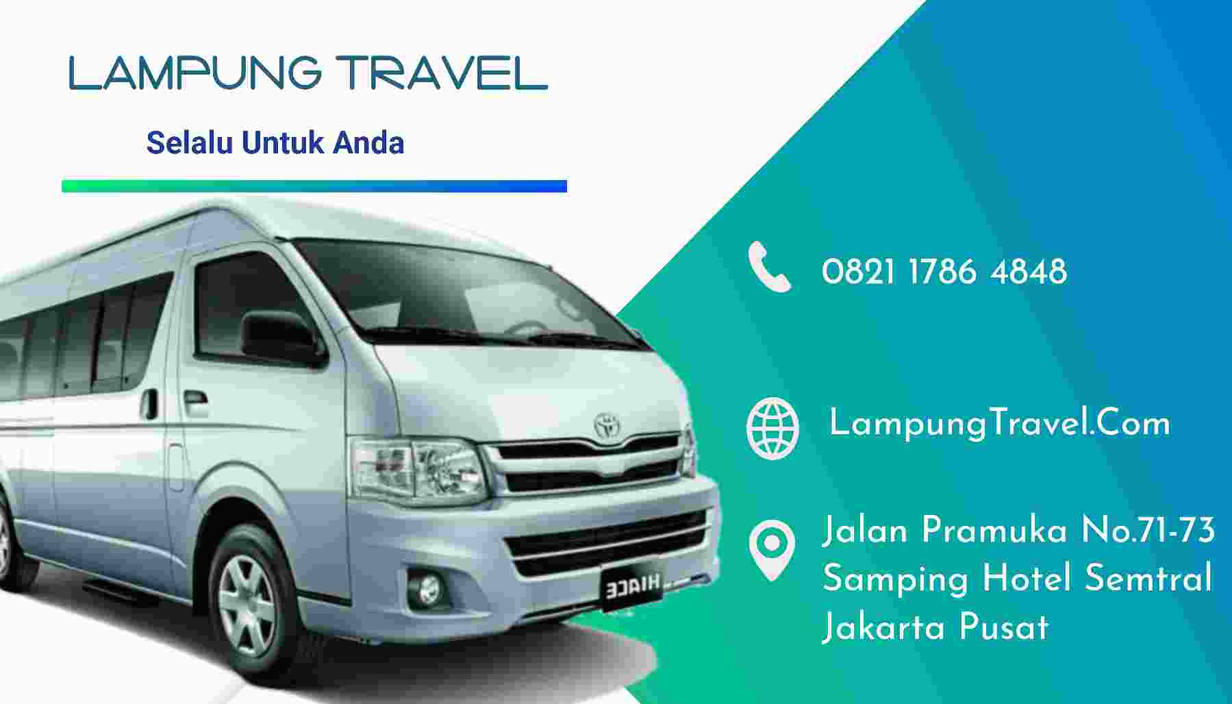 Layanan Travel Depok Pringsewu Branti Lampung