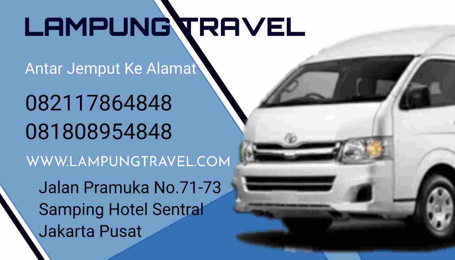 Travel Bekasi Pringsewu Tanjung Karang Lampung