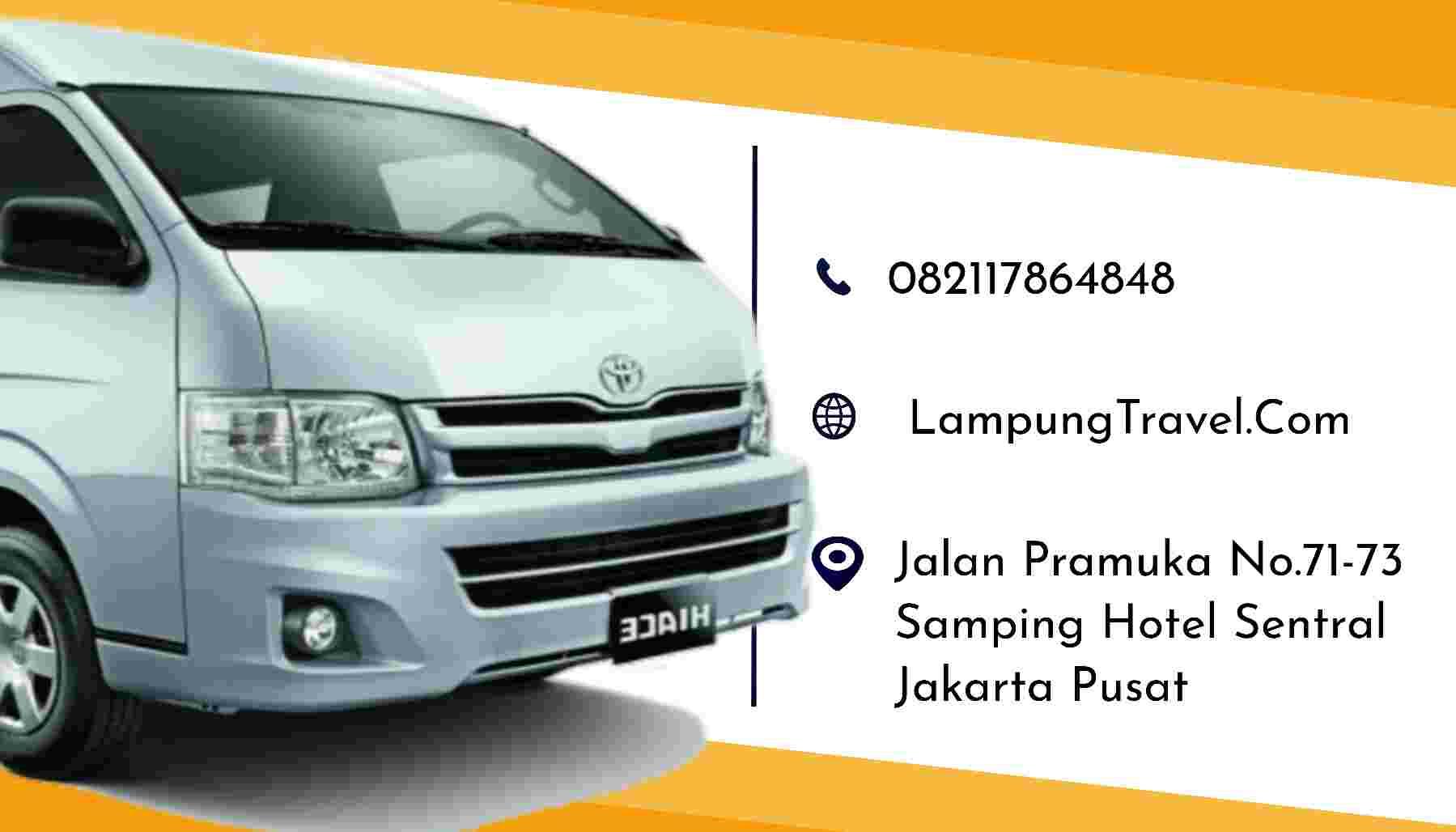 Travel Depok Metro Pringsewu Lampung